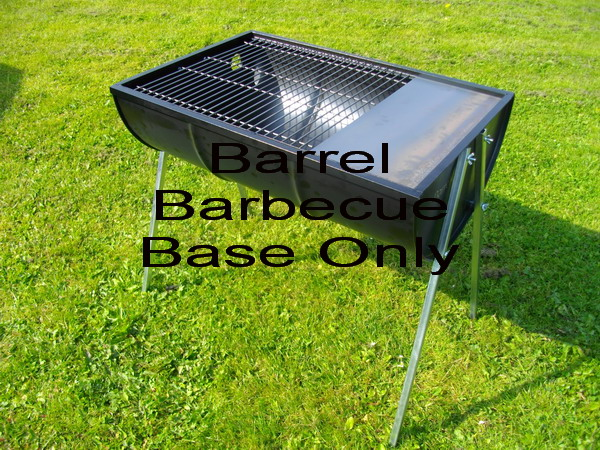 Deluxe Barrel Barbecue Base Only
