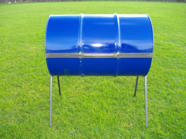 Bbq Sale Uk Part - 30: Mid Blue Barrels In Our Workshop Here In The UK ...